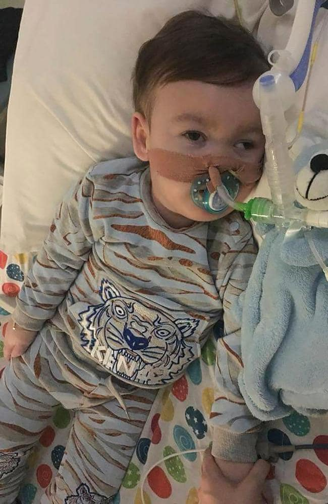 Alfie suffers from a rare neurological disease. Picture: Action for Alfie