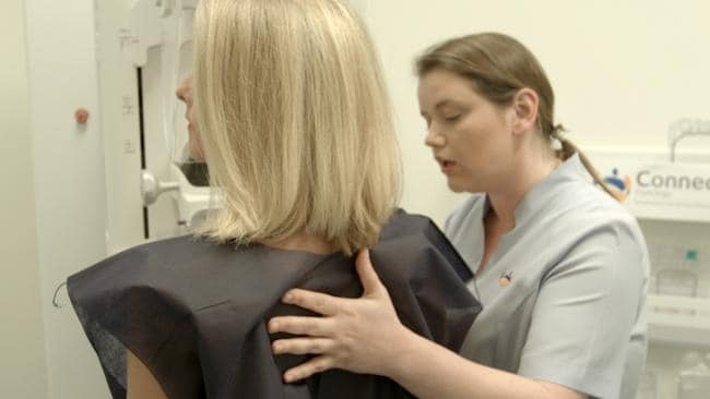 Oncologists aren't suggesting the breast screening process is dangerous, just that not all abnormalities being picked up necessarily need to be treated. Picture: Supplied