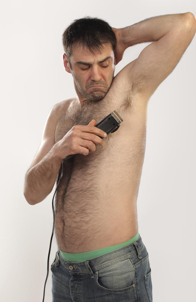 """Manscaping"" is more common than we thought."