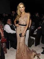 Model Petra Nemcova attends the 22nd Annual Elton John AIDS Foundation Academy Awards Viewing Party. Picture: Getty