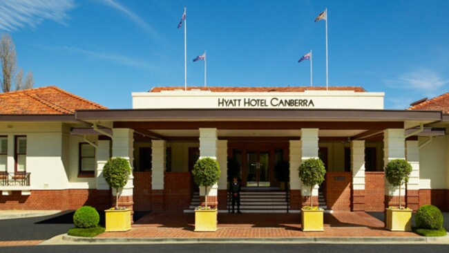 "8. Hyatt Hotel Canberra. 4.5/5. ""Space, dignity, old fashioned calm and comfort."" - Saj, Sydney"