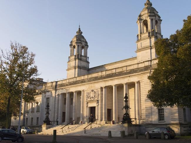Cardiff Crown Court where Matthew Scully-Hicks is currently on trial. Picture: Getty