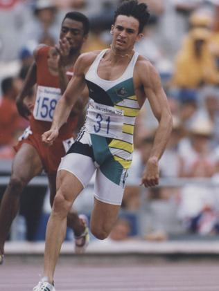 Game blame: Australian track champion Dean Capobianco tested positive to steroids in 1996. His excuse? 'I ate too much contaminated red meat.'