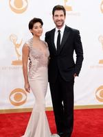 Dylan McDermott and Shasi Wells. Picture: Getty