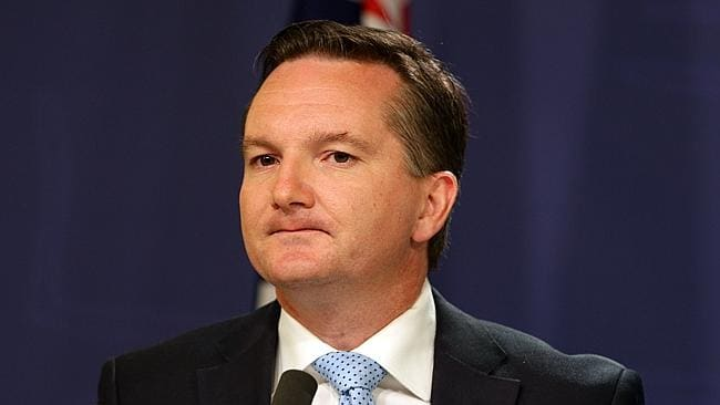 Calling for a statement ... shadow treasurer Chris Bowen. Picture: Renee Nowytarger