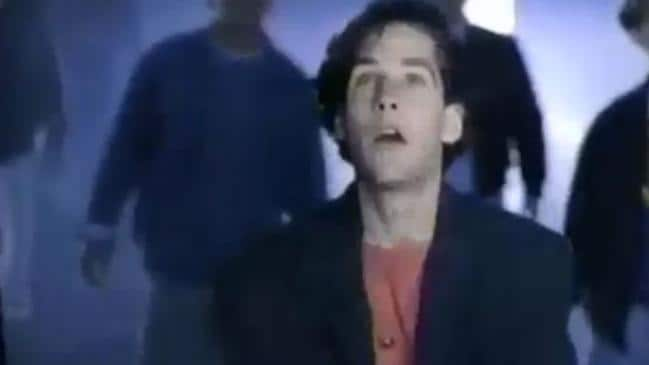 Paul Rudd in an early Nintendo commercial.
