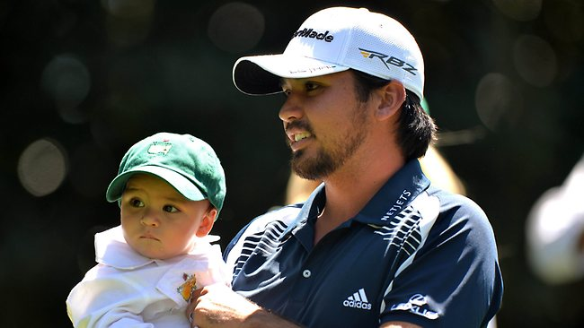 Jason Day and son Dash