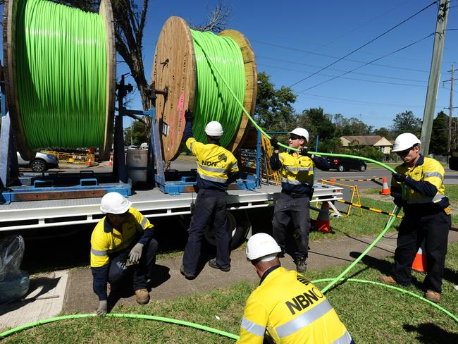 The NBN gets rolled out in Penrith.