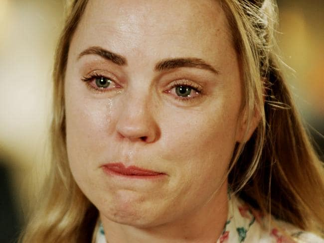 Melissa George has broken her silence on the violent assault that ended her relationship. Picture: Seven's Sunday Night