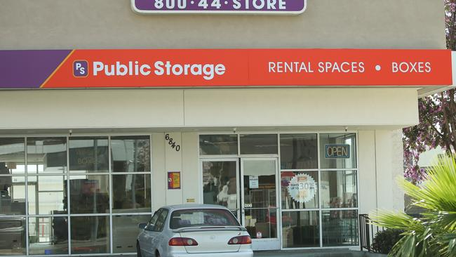 Belafonte's lawyer claims the pair agreed 'weeks ago' to put items in the storage locker. Picture: Splash