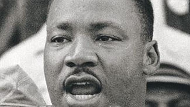 "Martin Luther King's ""I Have a Dream"" speech made history. Picture: AP."