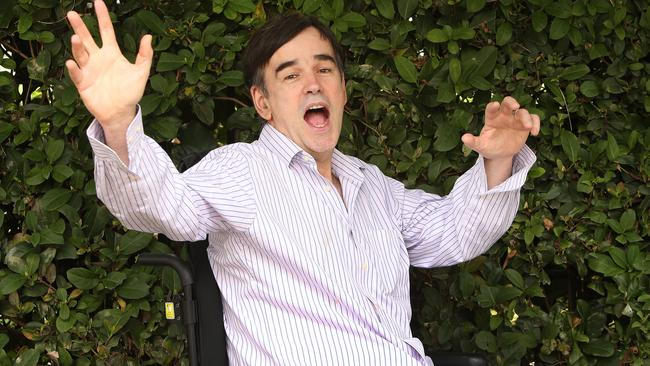 Tim Ferguson has lived with multiple sclerosis for most of his life. Picture: Chris Pavlich