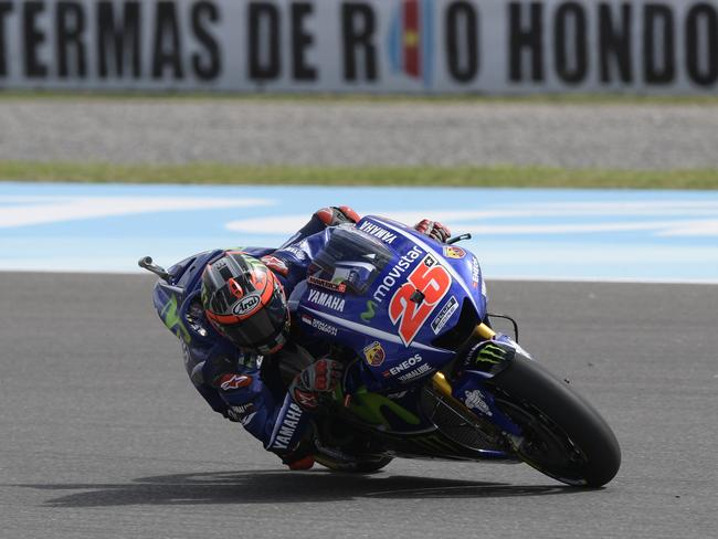 Vinales headed the timesheets on Friday.
