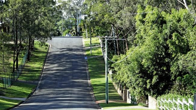 Leafy Kootingal St in Ashmore, is a pricey address. Picture: Luke Marsden
