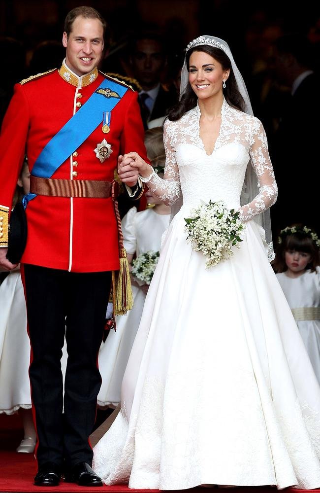 The Duke and Duchess of Cambridge were married in April 2011 at Westminster Abbey in London.