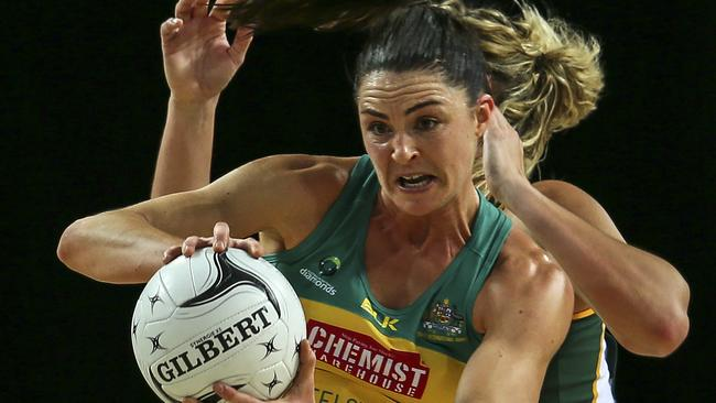 Gun defender Sharni Layton is progressing well and hopes for a return to the national squad soon. Picture: Getty Images