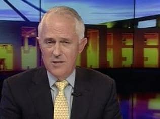Turnbull: 'The Budget isn't Abbott's plan'