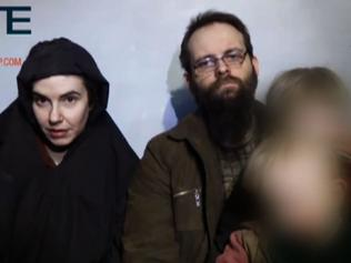 US-Canadian family held by the Taliban arrive in Toronto