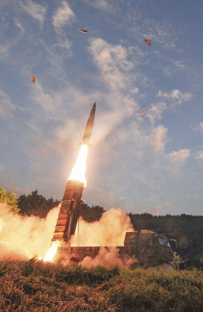 South Koreau0027s Hyunmoo II ballistic missile is