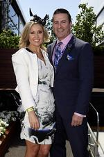 Caulfield Guineas Day - Sally and Ian Peterson. Picture: Julie Kiriacoudis