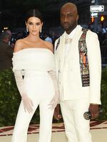 Kendall Jenner and Virgil Abloh attend the Heavenly Bodies: Fashion and The Catholic Imagination Costume Institute Gala at The Metropolitan Museum of Art on May 7, 2018 in New York City. Picture: Getty Images