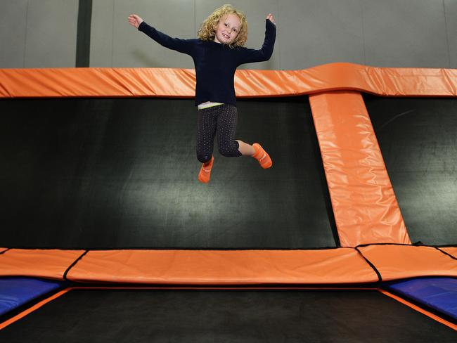 Hannah Le Dieu Is One Of Many Kids Who Have Embraced Trampoline Parks