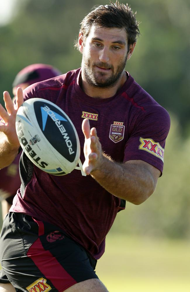 Big Dave Taylor is a boom or bust option off the Maroons' bench.