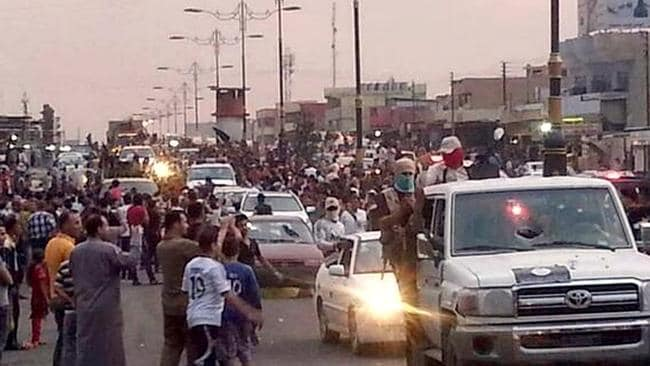 Time bomb ... the current bloodshed in Iraq is a culmination of what ISIS has been trying to achieve since its formation in 2006, expert say.
