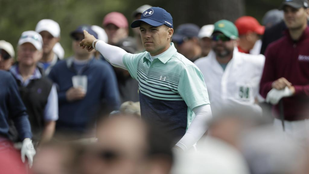 Jordan Spieth clutched a deficit from the jaws of a lead at Augusta for the second year running.