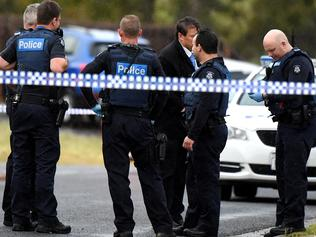 A man fights for his life in hospital after being shot at Walsingham Crescent Kurunjang. Picture: Nicole Garmston