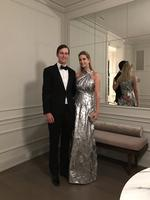 Ivanka Trump shares an Instagram image with husband Jared Kushner on January 29, 2017. Picture: Instagram