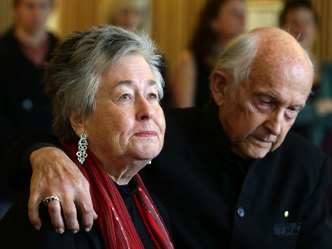 Shattered ... Peter Greste's parents Juris & Lois were left devastated by the Egyptian court's decision. Picture: Liam Kidston.