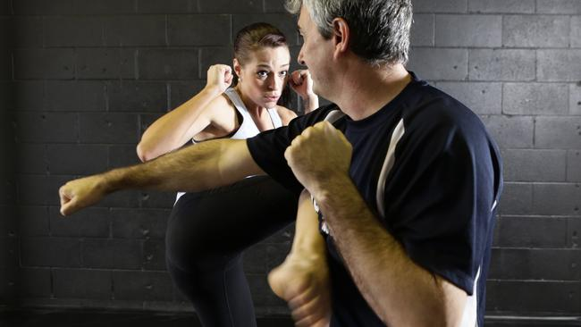 Malliree Reilly was sexually assaulted in June 2012 and began self-defence classes soon after. Picture: Anthony Weate