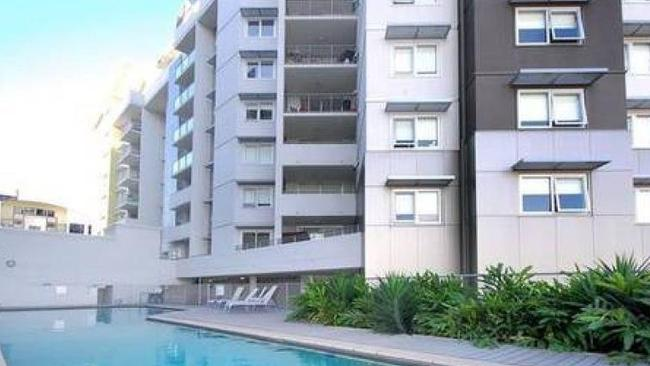 Studio apartment available for rent in Brisbane for $310 per week. Picture: realestate.com.au