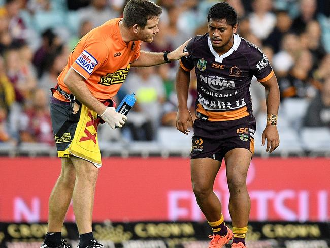 Anthony Milford was allowed to stay on the field.