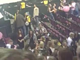 Scare at Ariana Grande concert in Manchester. Picture: Supplied