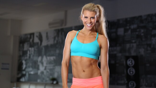 Tiff Hall is a leading proponent of HIIT workouts for time-poor women. Photo: Supplied