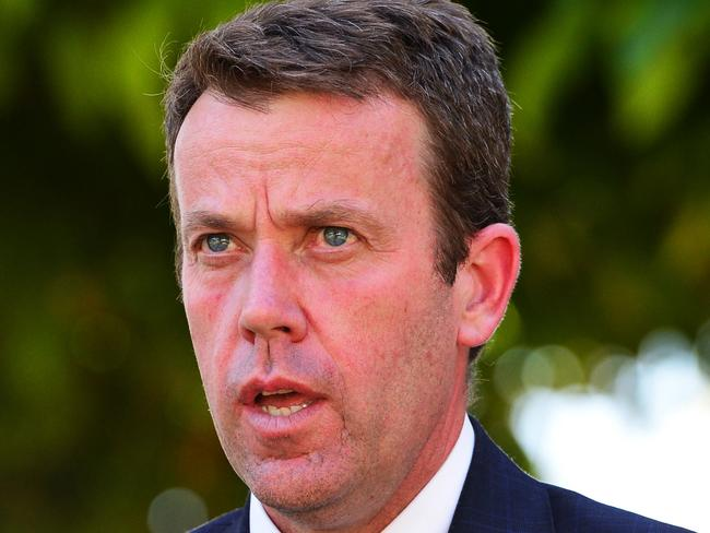 Minister of Veterans Affairs Dan Tehan has defended Malcolm Turnbull. Picture: Zak Simmonds