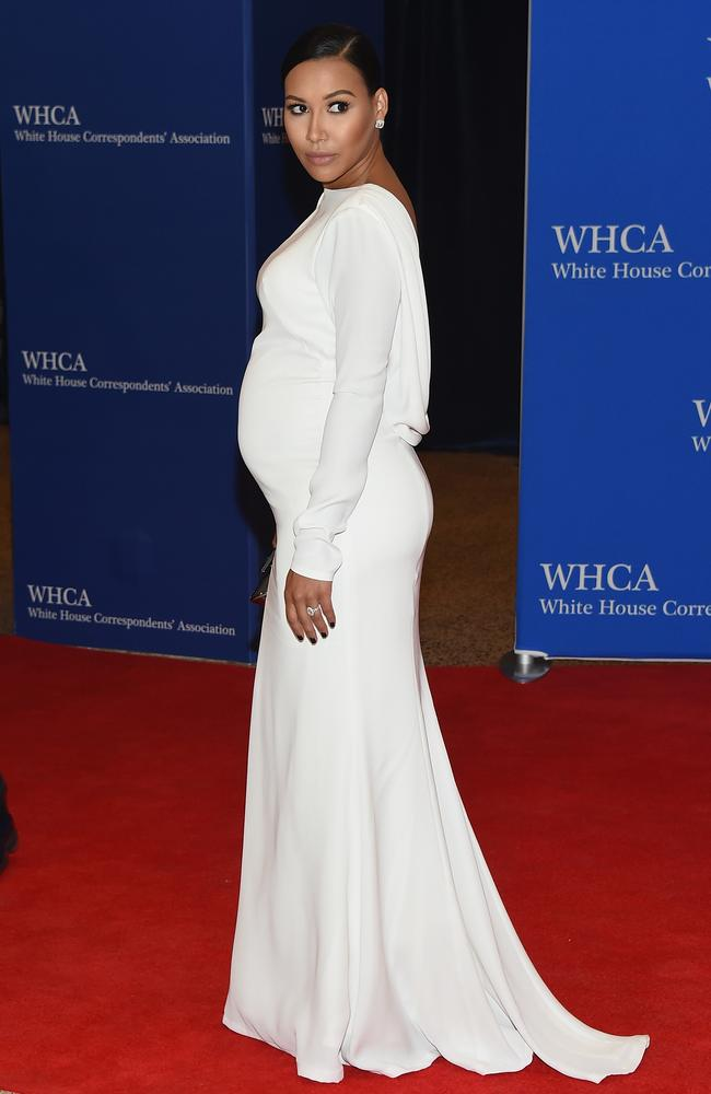 Naya Rivera attends the 101st Annual White House Correspondents' Association Dinner in April.