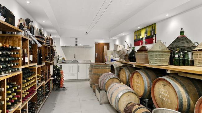 Fancy a wine? There will be one or two available in the cellar.