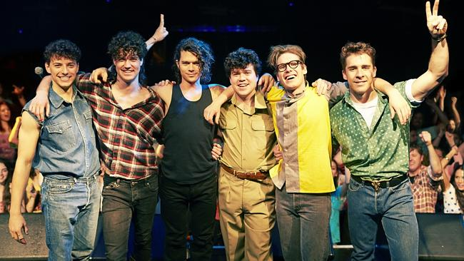 """The cast of Channel 7s """"INXS: Never Tear Us A..."""