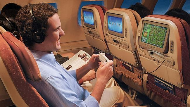 Soon you'll be able to tailor your movies, television shows and music specifically to your tastes. Picture: Singapore Airlines.