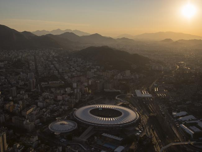 The Maracana stadium will host the World Cup final.