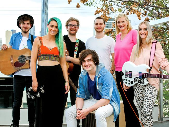 Brisbane band Sheppard on Better Homes and Gardens with Johanna Griggs