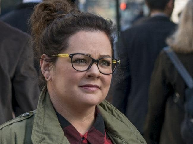 Melissa McCarthy played the zany comic relief — along with everyone else in the film. Picture: Sony