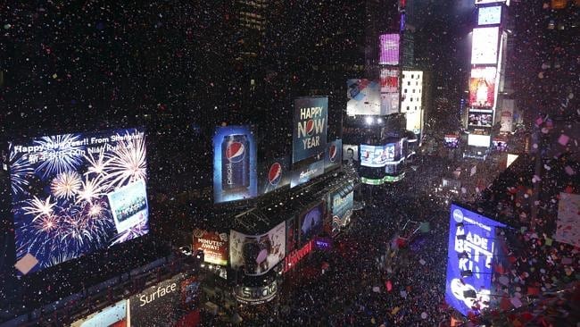 It'll be all about Miley on NYE in NYC. Picture: Supplied