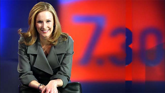 Leigh Sales, ABC 730 Report anchor and mother of one
