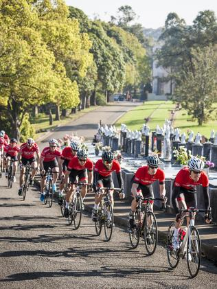 It's Le Tour de Rookwood. Picture: Philip Le Masurier