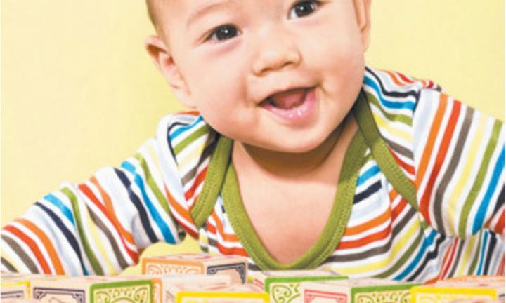 Four brain games to help your baby's development