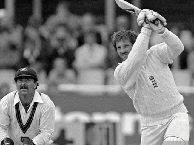 Ian Botham and Rod Marsh engaged in some intersting verbal jousting.
